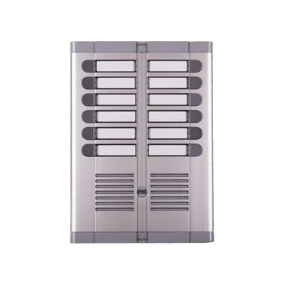 FRONT PANEL ON 2 ROWS FOR DOOR UNIT