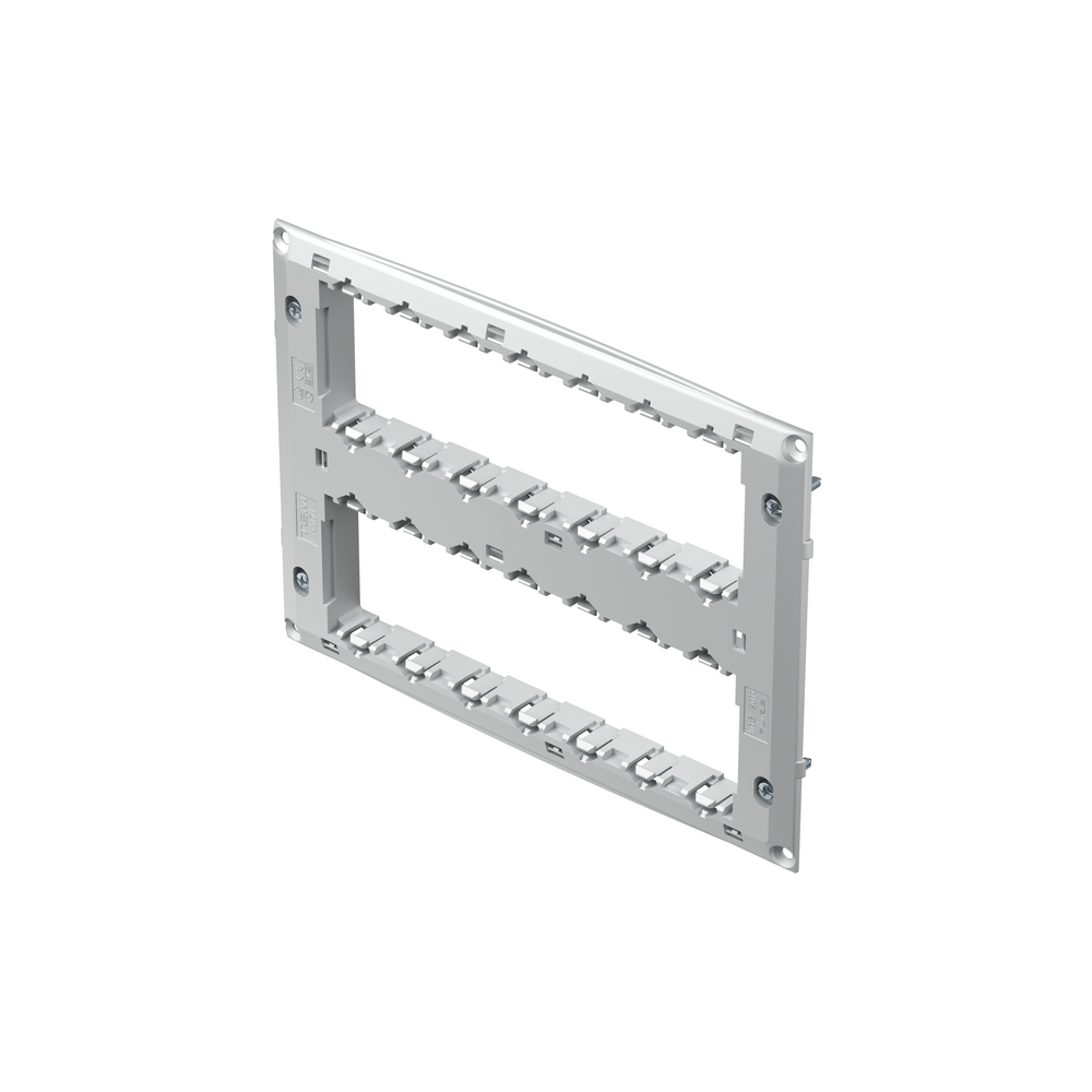 MOUNTING FRAME WITH SCREWS 2x7M