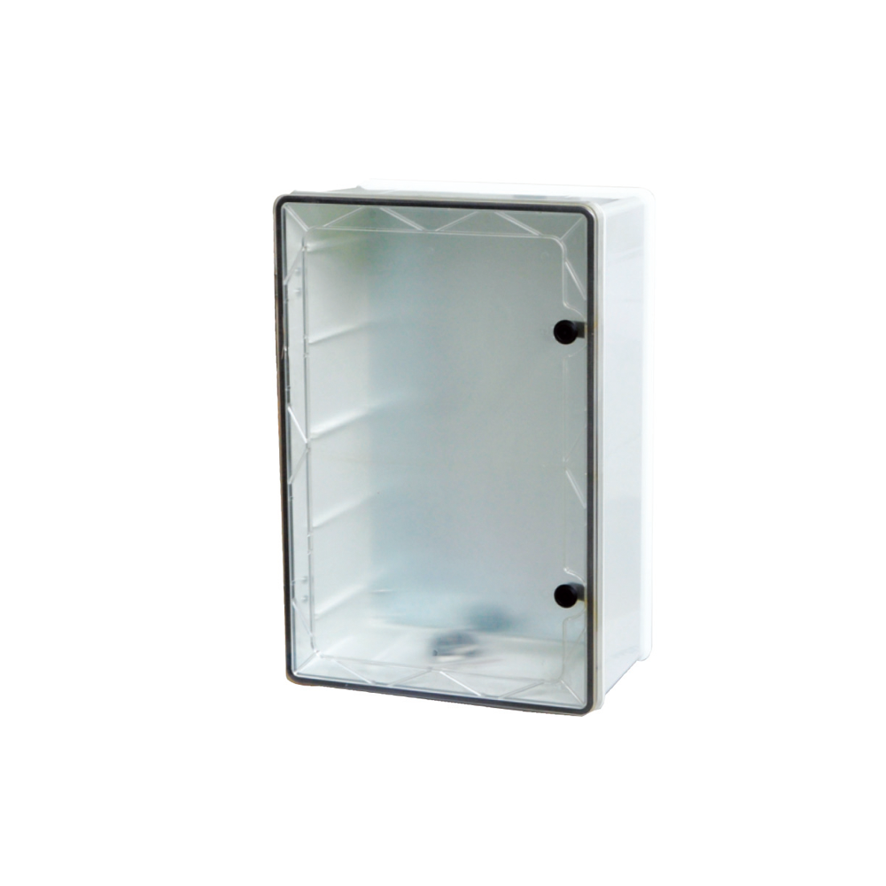TRANSPARENT COVER BOXES WITH INNER PLATE