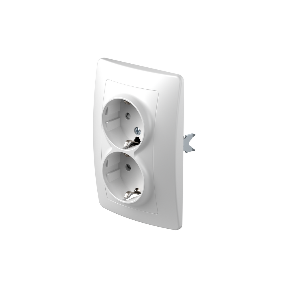SOCKET SCHUKO DOUBLE